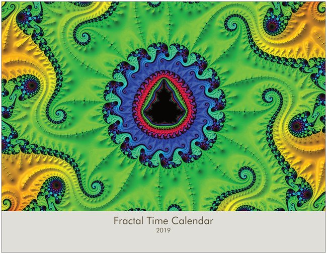 Cover - Fractal Time - 2019 Wall Calendar